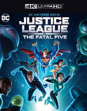 Justice League vs The Fatal Five VUDU 4K or iTunes 4K via MA