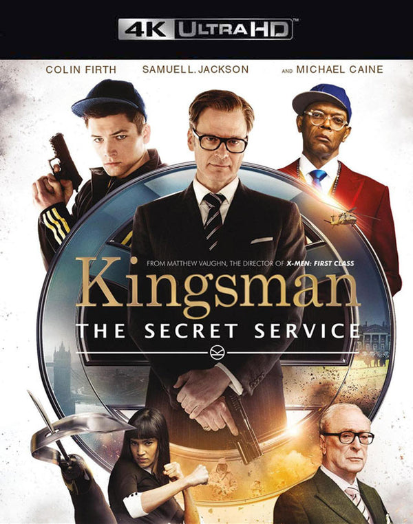 Kingsman The Secret Service VUDU 4K through iTunes 4K