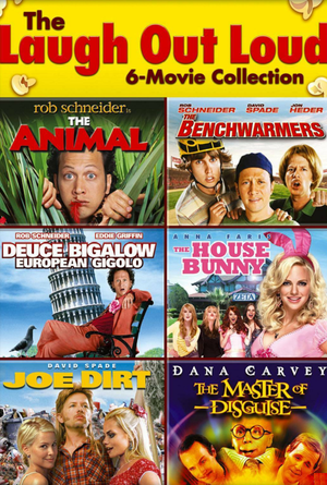 Laugh Out Loud 6-Movie Collection VUDU SD Instawatch (iTunes SD via MA)