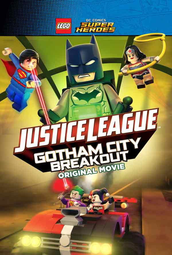 Lego Super Heroes Justice League Gotham City Breakout UV HD or iTunes HD via Movies Anywhere