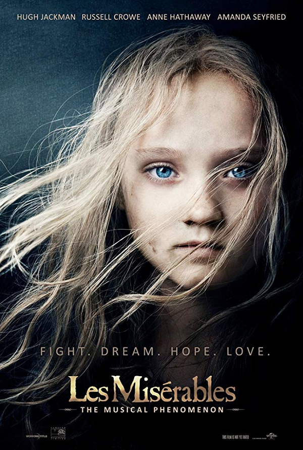 Les Miserables VUDU HD or iTunes HD via MA