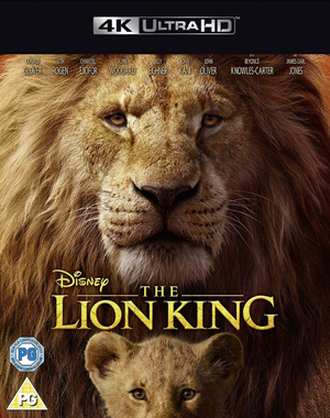 The Lion King 2019 MA 4K VUDU 4K