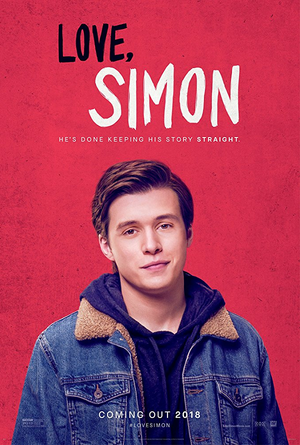 Love Simon VUDU HD or iTunes HD via Movies Anywhere
