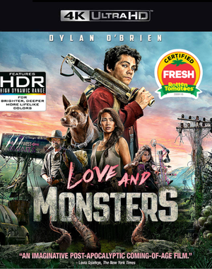 Love and Monsters VUDU 4K or iTunes 4K