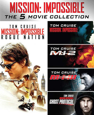 Mission Impossible 5-Movie Collection VUDU HD Instawatch