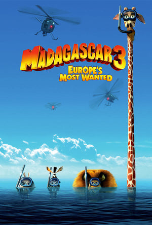 Madagascar 3 Europe's Most Wanted VUDU HD or iTunes HD via Movies Anywhere