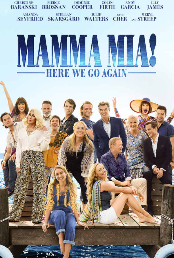 Mamma Mia Here We Go Again VUDU HD or iTunes HD via MA Early Release