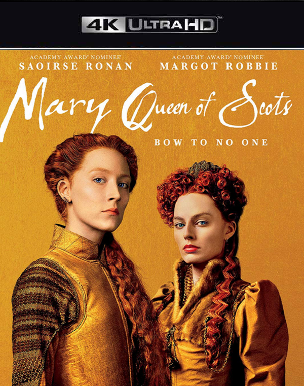 Mary Queen of Scots VUDU 4K or iTunes 4K via Movies Anywhere
