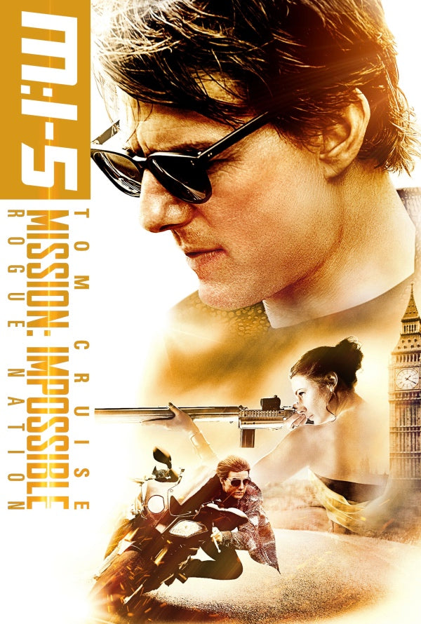 Mission Impossible Rogue Nation VUDU HD or iTunes 4K