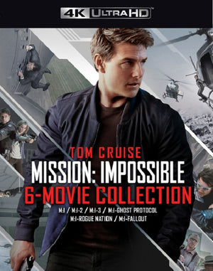 Mission Impossible 6 Movie Collection VUDU 4K