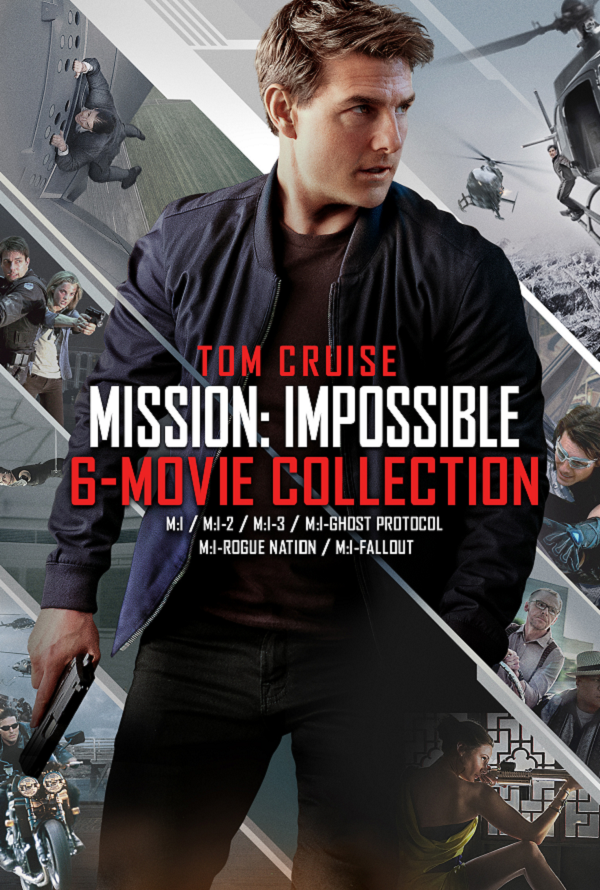 Mission Impossible 6 Movie Collection VUDU HD Pre-order Release Day DEC 4