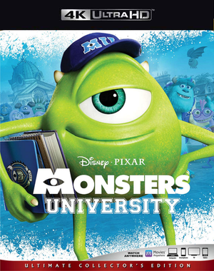 Monsters University MA 4K VUDU 4K FandangoNow 4K