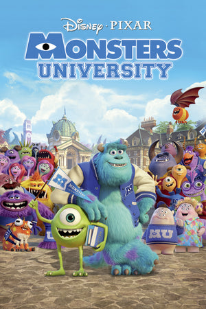Monsters University MA VUDU iTunes HD
