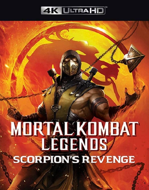 Mortal Kombat Legends Scorpion's Revenge VUDU 4K or iTunes 4K via MA