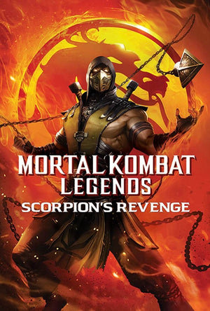 Mortal Kombat Legends Scorpion's Revenge VUDU HD or iTunes HD via MA