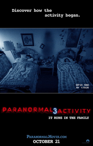 Paranormal Activity 3 iTunes HD Unrated Director's Cut