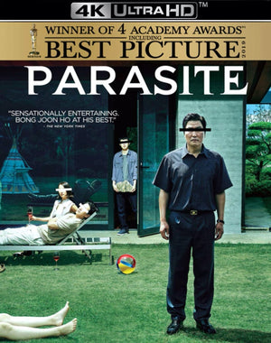 Parasite VUDU 4K or iTunes 4K via MA