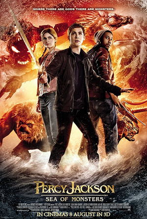 Percy Jackson: Sea of Monsters VUDU HD or iTunes HD via Movies Anywhere