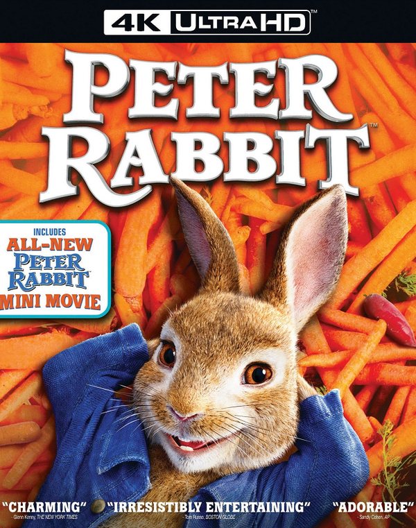 Peter Rabbit Movies Anywhere 4K and iTunes 4K