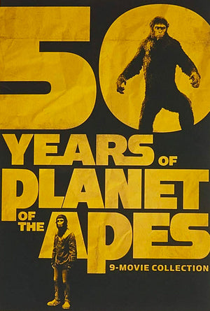 50 Years of Planet of the Apes 9-Movie Collection VUDU HD or iTunes HD via MA