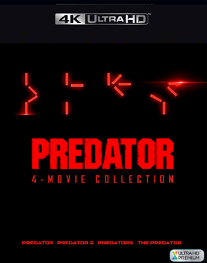 Predator 4-Movie Collection VUDU 4K Instawatch (iTunes 4K via MA)