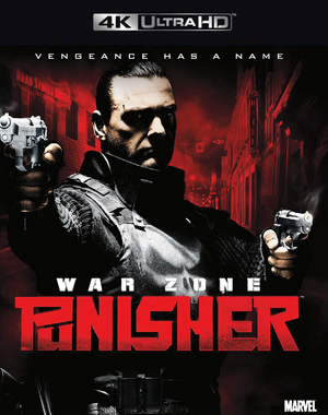Punisher War Zone VUDU 4K
