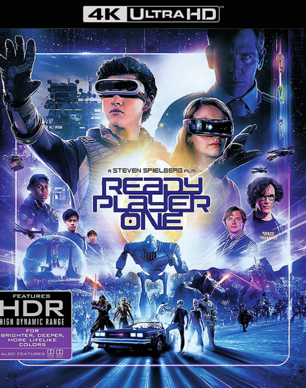 Ready Player One VUDU 4K or iTunes 4K via Movies Anywhere