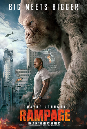 Rampage UV HD or iTunes HD via Movies Anywhere