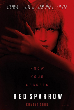 Red Sparrow VUDU HD or iTunes HD via Movies Anywhere