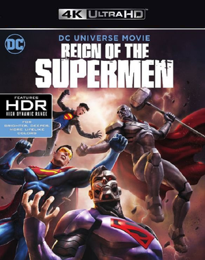 Reign of the Supermen VUDU 4K iTunes 4K FandangoNow 4K via MA