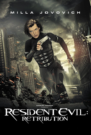 Resident Evil Retribution VUDU HD or iTunes HD via Movies Anywhere