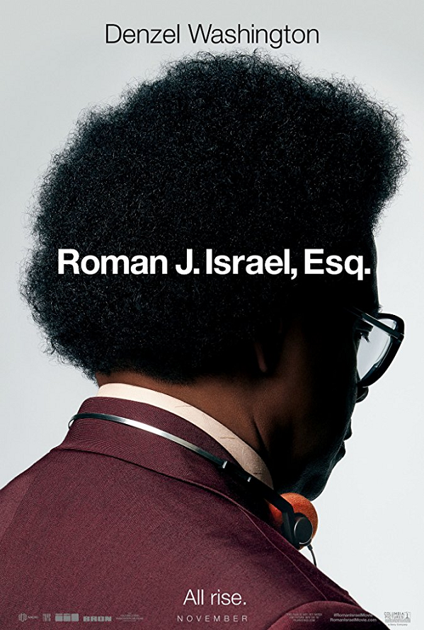 Roman J. Israel, Esq UV SD or iTunes SD Via Movies Anywhere