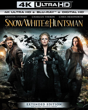 Snow White & the Huntsmen Extended Edition VUDU 4k