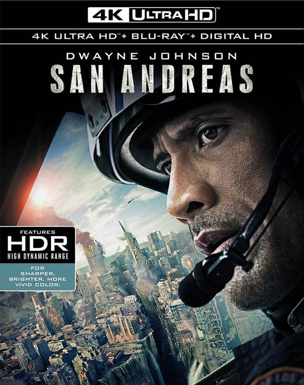 San Andreas UV 4K or iTunes 4K via Movies Anywhere