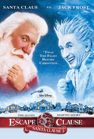The Santa Clause 3 Escape Clause MA VUDU HD iTunes HD
