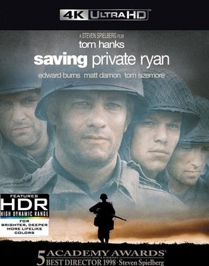 Saving Private Ryan VUDU 4K or iTunes 4K