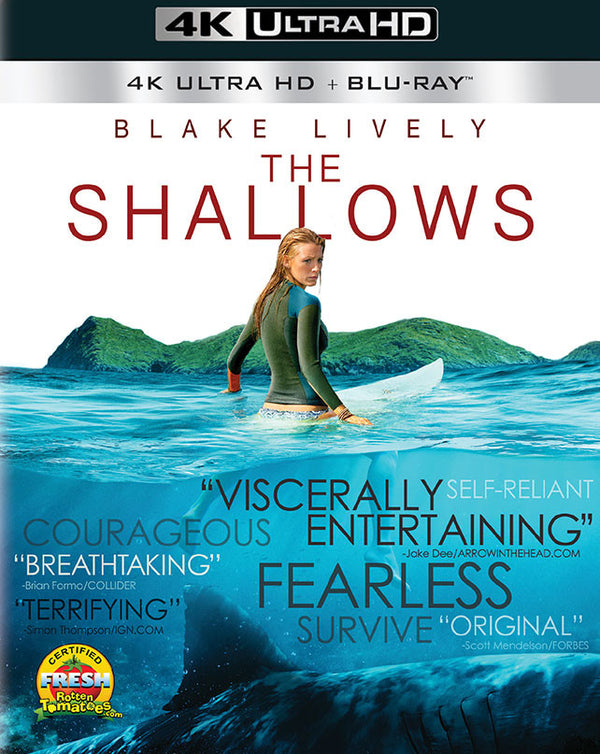 The Shallows UV 4K or iTunes 4K via Movies Anywhere