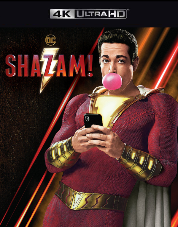 Shazam VUDU 4K or iTunes 4K via MA