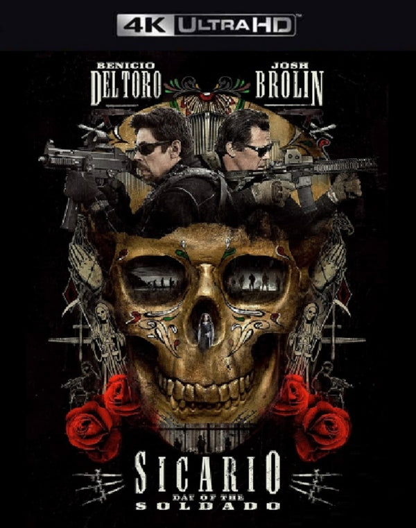 Sicario Day of the Soldado VUDU 4K or iTunes 4K via Movies Anywhere Early Release