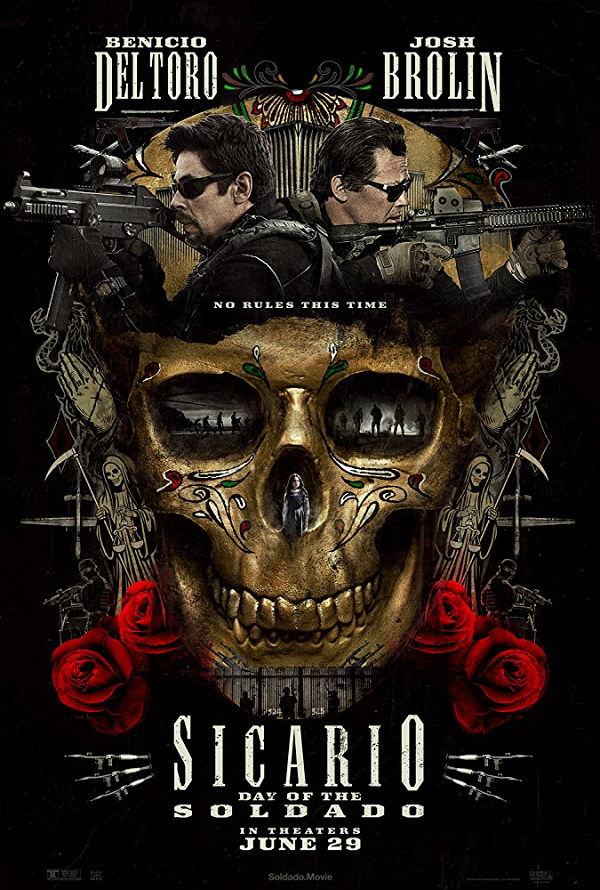 Sicario Day of the Soldado VUDU HD or iTunes HD via MA Early Release