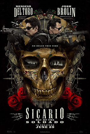 Sicario Day of the Soldado VUDU HD or iTunes HD via Movies Anywhere