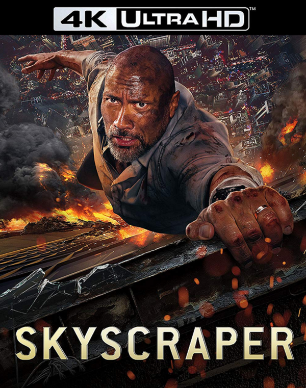 Skyscraper VUDU 4K or iTunes 4K via Movies Anywhere Pre-order OCT 10