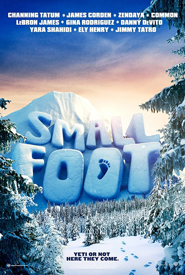Smallfoot VUDU HD or iTunes HD via Movies Anywhere Early Release