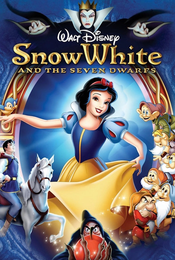 Snow White and the Seven Dwarfs MA HD VUDU HD iTunes HD