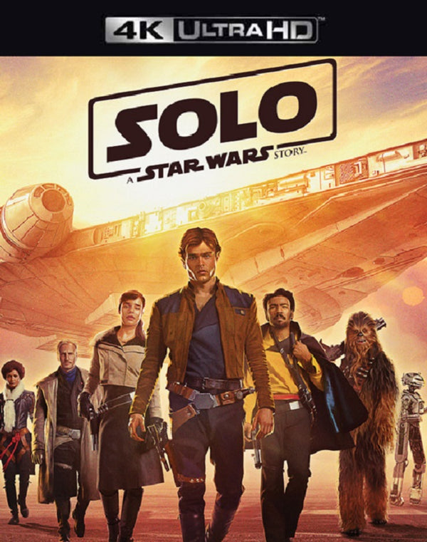 SOLO A Star Wars Story iTunes 4K (VUDU 4K via MA)