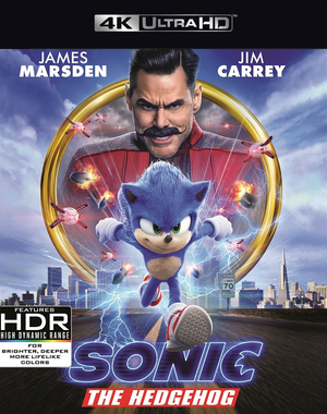 Sonic the Hedgehog VUDU 4K or iTunes 4K