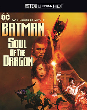 Batman Soul of the Dragon VUDU 4K or iTunes 4K via Movies Anywhere