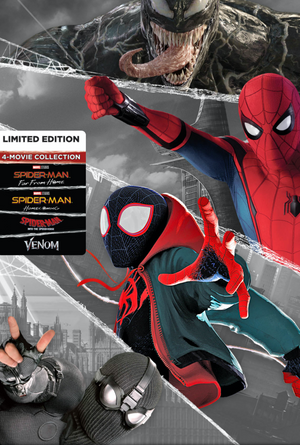 Spider-Man 4-Film Collection MA VUDU HD iTunes HD