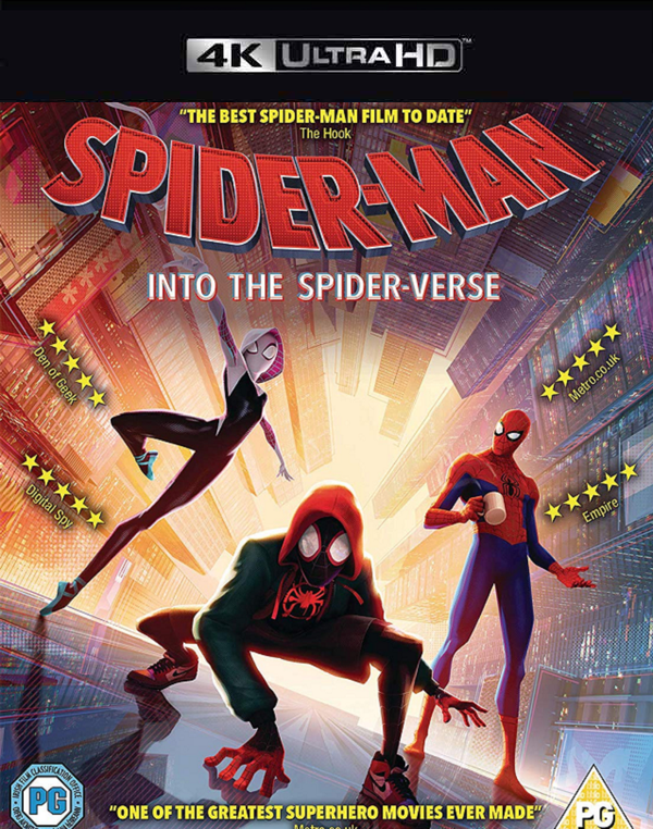Spider-Man Into the Spider-Verse MA VUDU 4K iTunes 4K