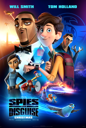 Spies in Disguise VUDU HD or iTunes HD via MA